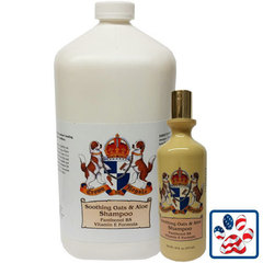 CROWN ROYALE Soothing Oats and Aloe Shampoo концентрат