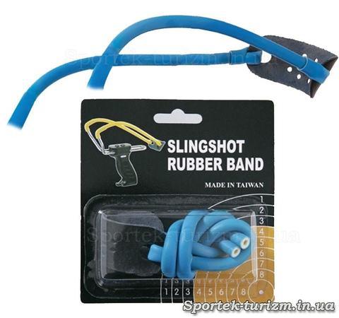 Резинка синего цвета для рогаток Man Kung MK-TR-BL