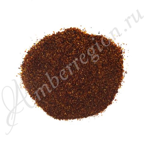Янтарная крошка (полуфабрикат), фракция 0-1 мм (полутёмный)
