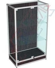 ВА-301-Д Витрина из алюминиевого профиля с подиумом 1500х900х500 мм