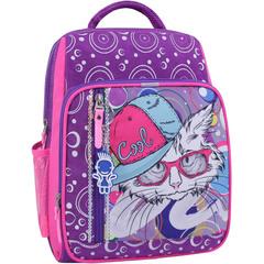 Рюкзак школьный Bagland Школьник 8 л. фиолетовый 501 (0012870)