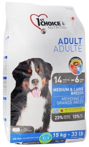 Сухой корм Корм для взрослых собак средних и крупных пород, 1st Choice Adult, с курицей взр_круп_с_кур_15.jpg