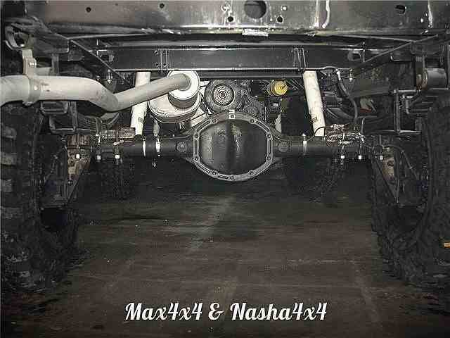 Редукторные мосты на основе УАЗ Спайсер фото-4