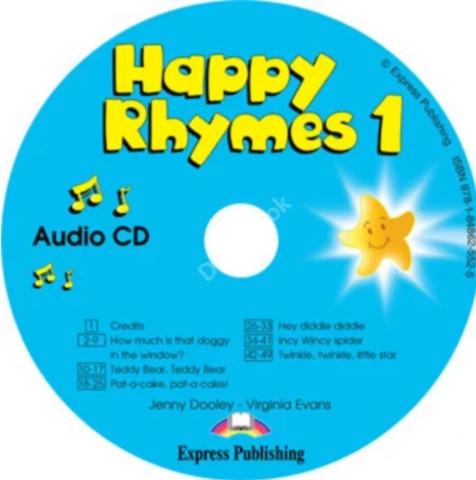 Jenny Dooley, Virginia Evans Happy Rhymes 1 (аудиокурс CD)