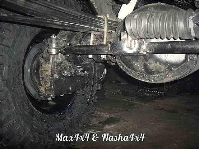 Редукторные мосты на основе УАЗ Спайсер фото-5