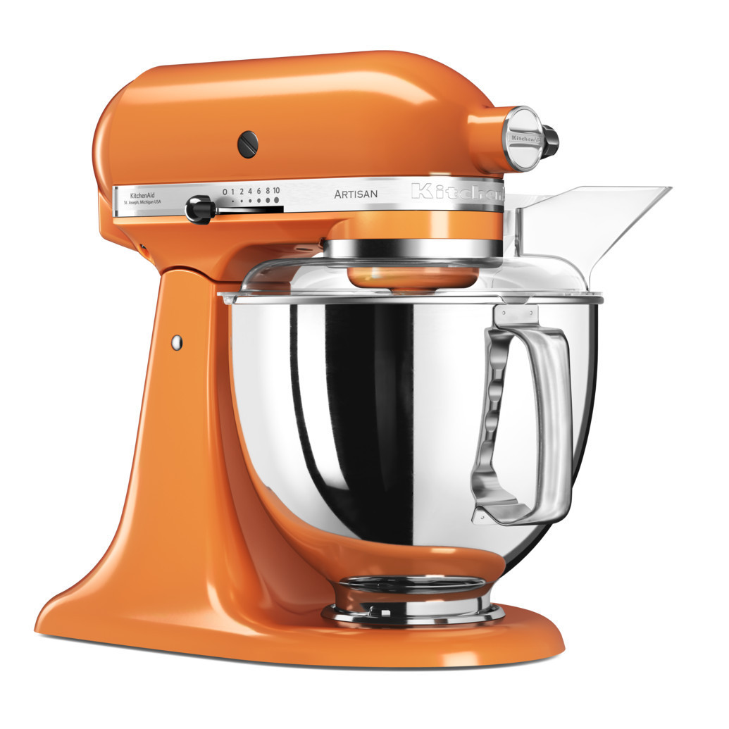 Миксер KitchenAid Artisan планетарный мандариновый 5KSM175PSETG