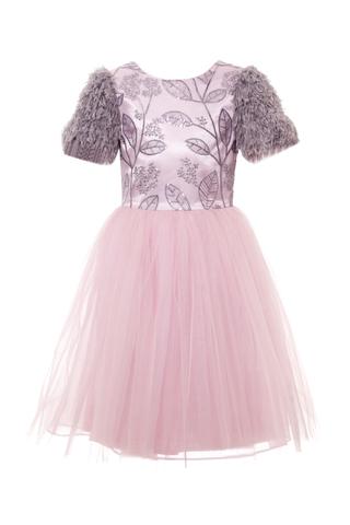 Нарядное платье для девочки (арт.29022)