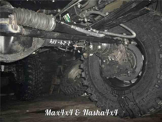 Редукторные мосты на основе УАЗ Спайсер фото-6