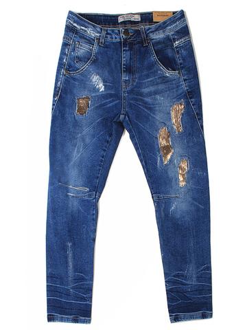 GJN008824 джинсы для девочек, синие