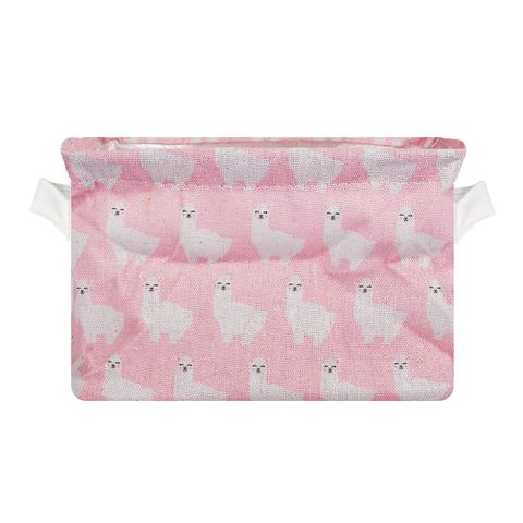 Корзина Alpaca Pink текстил.