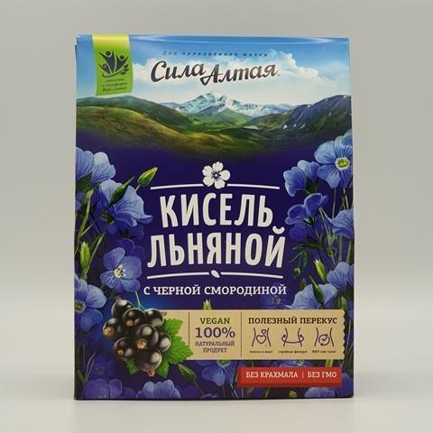 Кисель льняной с черной смородиной СПЕЦИАЛИСТ, 150 гр