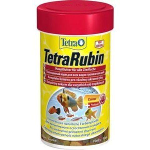 TETRARubin (хлопья) корм для усиления окраса 100мл