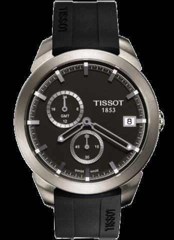 Купить Мужские швейцарские часы Tissot T-Sport Titanium GMT T069.439.47.061.00 по доступной цене