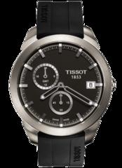 Мужские швейцарские часы Tissot T-Sport Titanium GMT T069.439.47.061.00