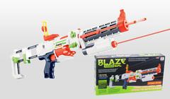 Автомат помповый с мягкими пулями на батарейках BlazeStorm (BS7024/7056)