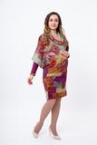 Платье 06205 фиолетовый