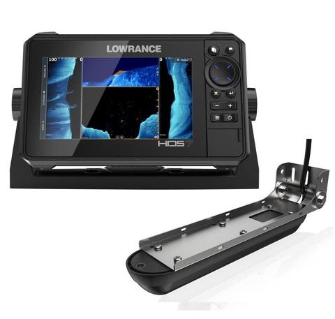 Эхолот-картплоттер Lowrance HDS-7 Live с датчиком Active Imaging 3-in-1