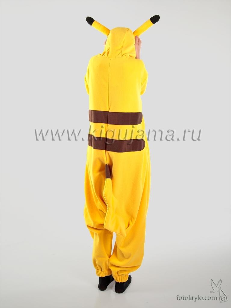 Пижама кигуруми Пикачу! Купить в Москве. Недорого. 2977835d3de56