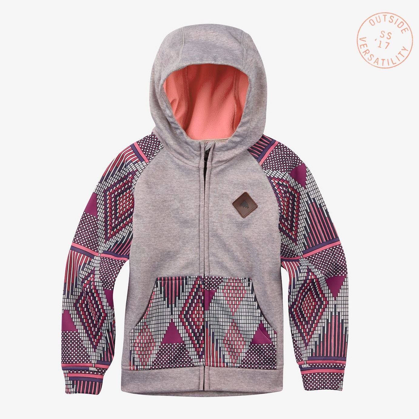 Толстовка BURTON GIRL'S MINI SCOOP FULL-ZIP HOODIE