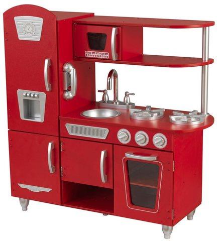 KidKraft Винтаж Vintage (красная) - детская кухня 53173_KE