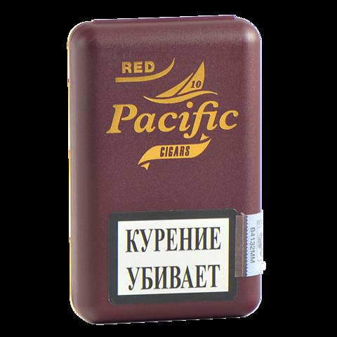 Сигариллы Neos Pacific Red (Aromatic Vanilla) 10 шт