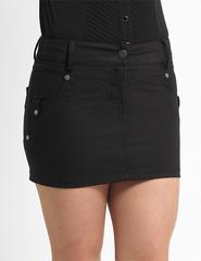 5201 юбка черная