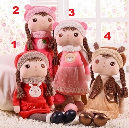 Soft Doll Dresses In Warm Little 40см