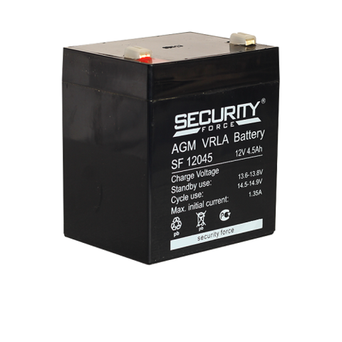 SF 12045 аккумулятор 12В/4,5Ач Security Force