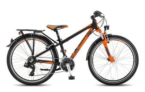 KTM WILD ONE 24.21 ATB (2016) черный с оранжевым