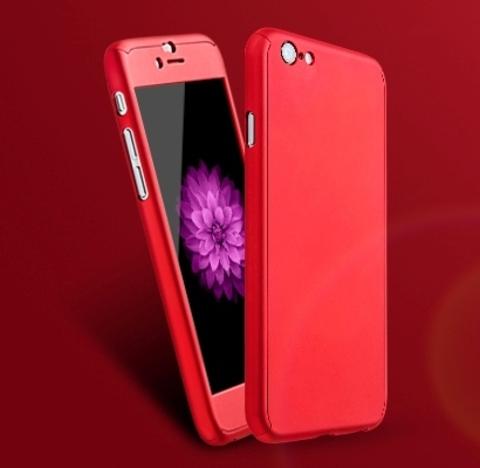 Противоударный чехол с защитным стеклом для IPhone 6/6s/6 Plus/6s Plus