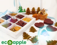 Коробка подарочная Новогодняя от eco-apple.ru