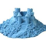 Космический песок 2 кг, голубой 3