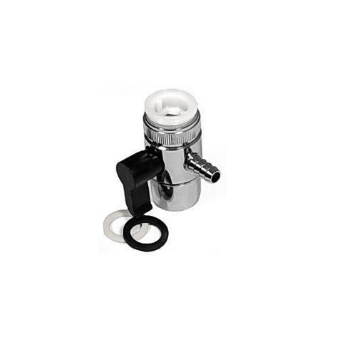 Переходник на кран универсальный с переключателем 7,8 миллиметра (дивертор)