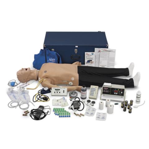 """Манекен прослушивания органов с улучшенным управлением дыхательными путями Deluxe """"Plus"""" CRiSis (в полный рост) Артикул LF03985U"""