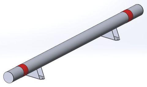 КМ-2000/108х3 Усиленный, прямой на ножках