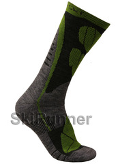 Термоноски с шерстью Nordski Wool Green