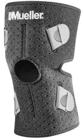 6117 NEW !!! Adjust-To-Fit®  Knee Support, Наколенник из нового легкого и дышашего материала без неопрена и латекса. Внутренние ремни для 4-х сторонней подгонки по ноге.