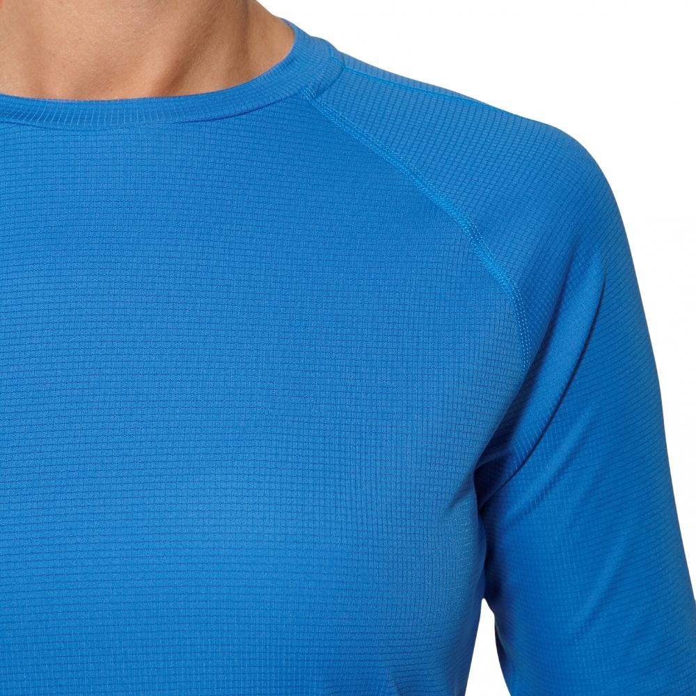 Рубашка Asics LS Top женская беговая синяя