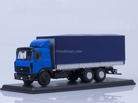 MAZ-6303 blue-gray Start Scale Models (SSM) 1:43