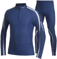Элитный Лыжный гоночный комбинезон Craft Force Dark Blue
