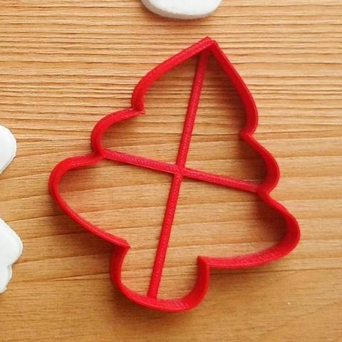 Елка форма для пряника, мастики, печенья