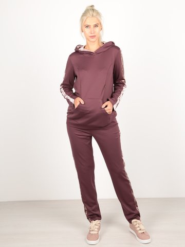 Евромама. Костюм для беременных и кормящих брюки и свитшот, бордо