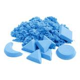Космический песок 2 кг, голубой 4