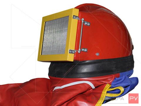 Шлем дробеструйщика Granit