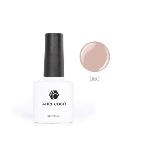 Цветной гель-лак ADRICOCO №060 сливочно-кофейный (8 мл.)