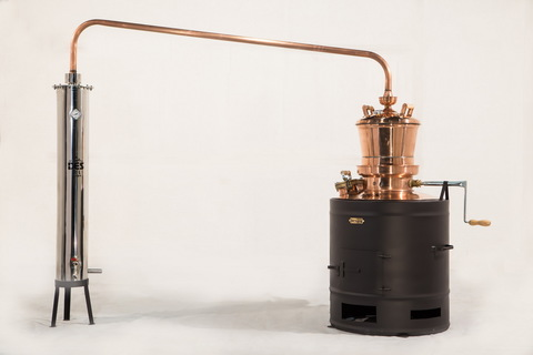 Дистиллятор медный Des Профессионал 200 литров