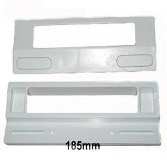 Ручка холодильника универсальная,крепеж 95 - 170 mm
