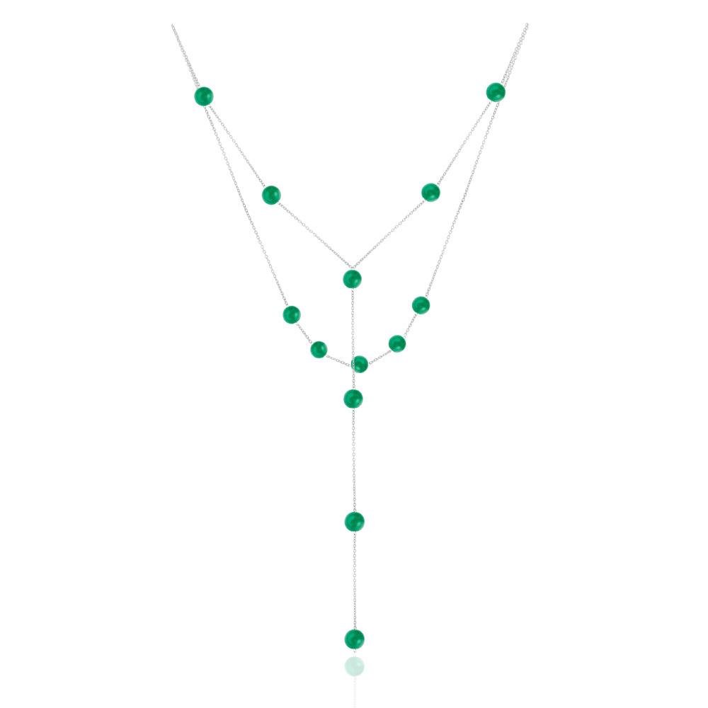 Сотуар из зеленого агата