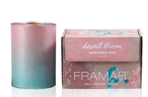 Roll Medium Desert Bloom | Фольга в рулоне с тиснением