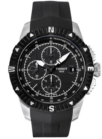 Купить Мужские швейцарские часы Tissot T-Sport T-Navigator T062.427.17.057.00 по доступной цене